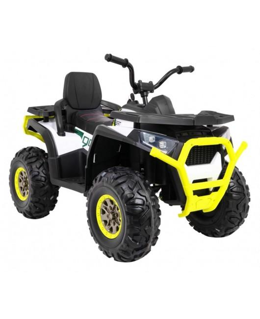 Elektrická štvorkolka ATV Desert biela